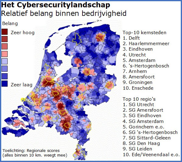 Bureau Louter en Innovatiespotter: Delft en Utrecht zijn koplopers in cybersecurity
